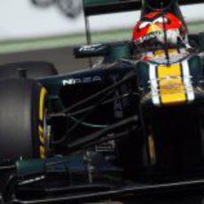 Heikki Kovalainen logra pasar a la Q2 en Valencia