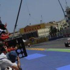 Fernando Alonso gana el Gran Premio de Europa 2012