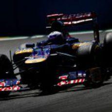Daniel Ricciardo en la clasificación del GP de Europa 2012