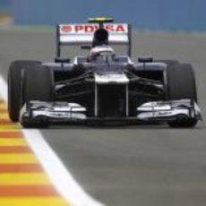 Valtteri Bottas se subió al FW34 durante los Libres 1 del GP de Europa