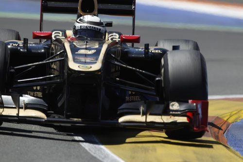Kimi Räikkönen terminó segundo en Valencia