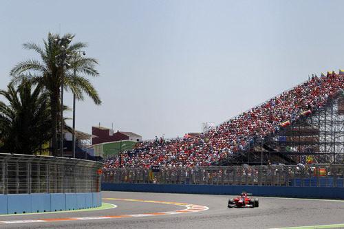 La grada del Valencia Street Circuit