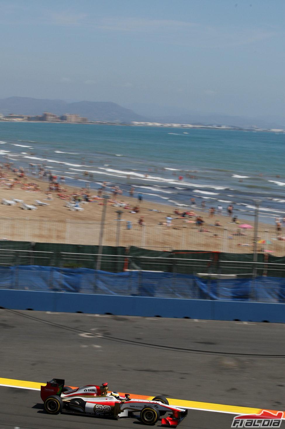 Playa y Fórmula 1