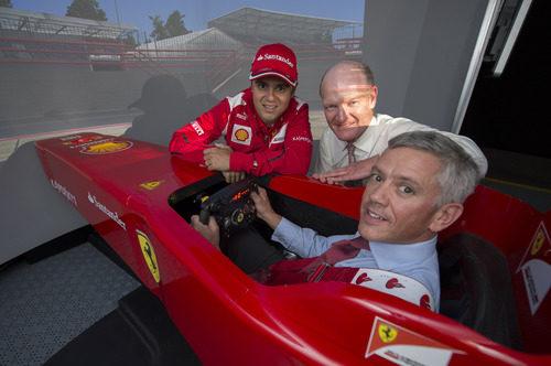 Felipe Massa se pasó por Londres antes del GP