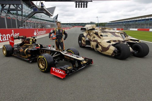 Batman se une a Lotus para el GP de Gran Bretaña 2012