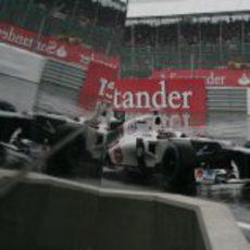 Kamui Kobayashi rueda en los libres