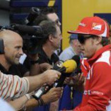 Antonio Lobato entrevista a Fernando Alonso