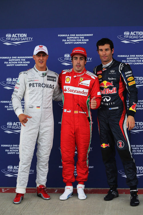 Fernando Alonso logra la 'pole' en el GP de Gran Bretaña 2012