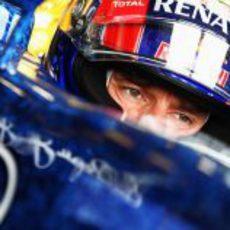 Mark Webber rozó la 'pole' en Silverstone