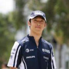 Nakajima llega al circuito