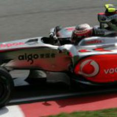 Kovalainen en el GP de Malasia