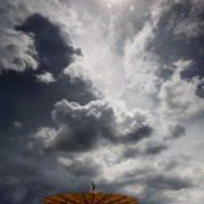 El cielo encapotado de Malasia