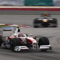 GLock por delante de Vettel