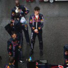 Webber espera la decisión de la FIA