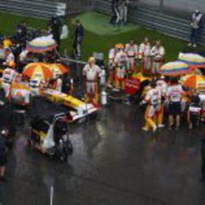 Los monoplazas de Renault