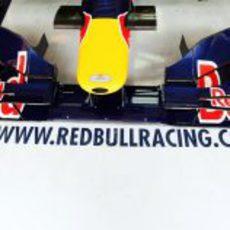 El morro de Red Bull