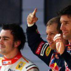Los 3 primeros de la sesión de clasificación