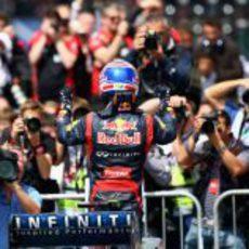 Mark Webber gana el GP de Gran Bretaña 2012