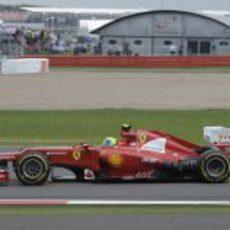 Felipe Massa fue consistente durante todo el GP de Gran Bretaña