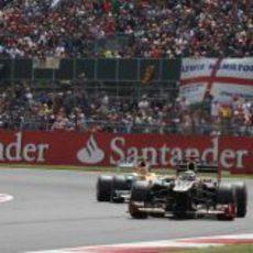 Kimi Räikkönen termino quinto en Silverstone