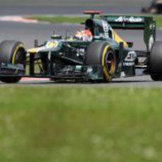 Heikki Kovalainen fue el único que corrió para Caterham
