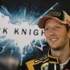 Romain Grosjean, una sonrisa de película