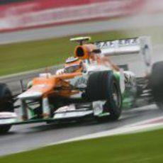 Nico Hülkenberg en los segundos libres
