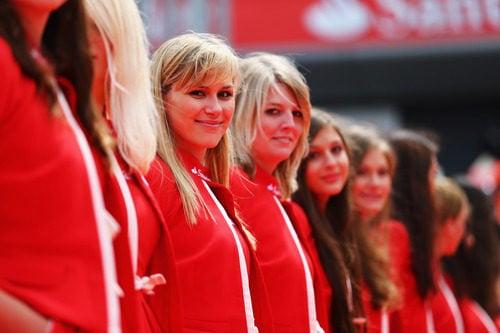 'Pit babes' del GP de Gran Bretaña 2012