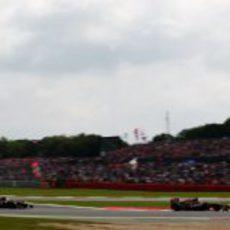 Los dos Toro Rosso se encuentar durante el GP Gran Bretaña 2012