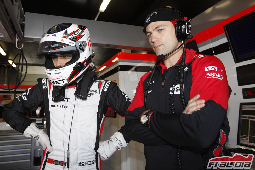 Tratamiento de piloto titular para Max Chilton