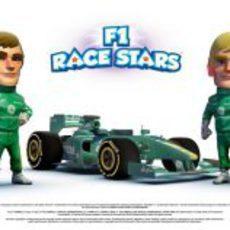 Equipo Caterham en 'F1 Race Stars'
