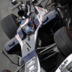 Valtteri Bottasl al volante del FW34