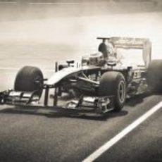 Donuts en el Moscow Raceway