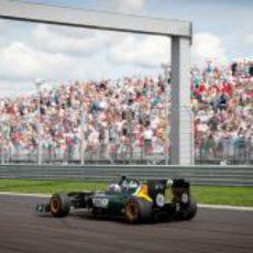 Moscow Raceway, tierra de Vitaly Petrov