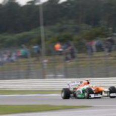 Paul di Resta completa los Libres 1 del GP de Alemania 2012