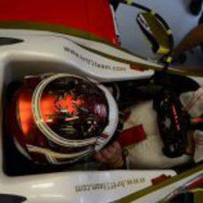 Dani Clos vuelve a subirse al F112