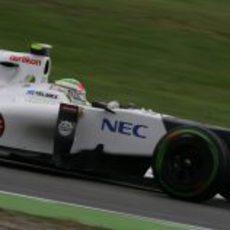 Sauber se mostró muy rápido en los libres