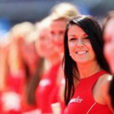 Otra 'pit babe' del GP de Alemania 2012