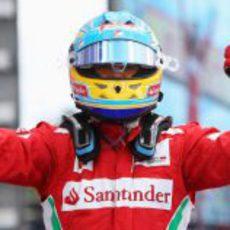 Fernando Alonso gana del GP de Alemania 2012