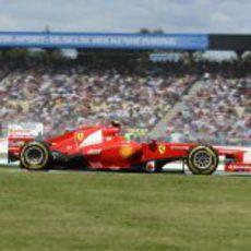 Felipe Massa terminó 12º el GP de Alemania 2012