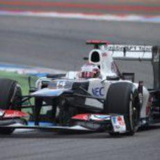 Kamui Kobayashi terminó cuarto el GP de Alemania 2012