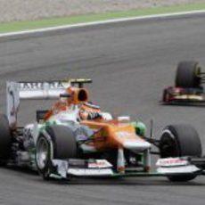 Nico Hülkenberg terminó noveno el GP de Alemania 2012