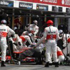 McLaren logró el 'pit stop' más rápido de la historia de la F1