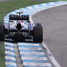 Mark Webber no tuvo mucho ritmo en Hockenheim