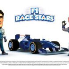 Equipo Williams en 'F1 Race Stars'