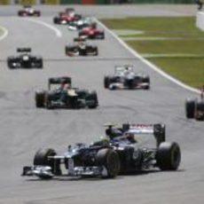 Bruno Senna pilota en Hockenheim