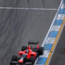 Charles Pic destacó en el Gran Premio de Alemania