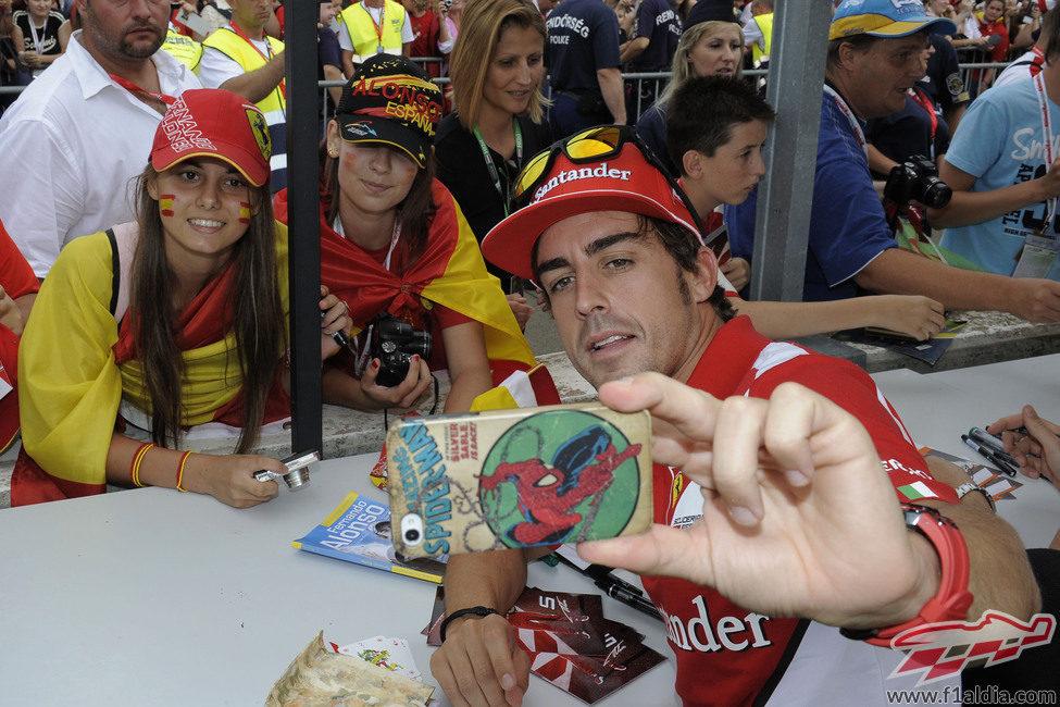 Fernando Alonso Fotografía a