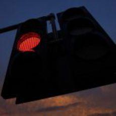 El semáforo de Hungaroring