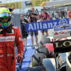 Felipe Massa finalizó séptimo en la clasificación